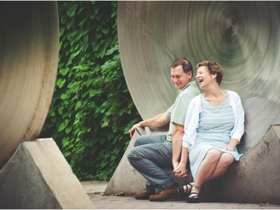 Sheilagh & Alan - Engagement Sesssion at The Strong Museum